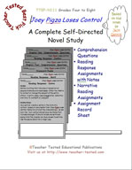 Joey Pigza Loses Control Novel Study Guide
