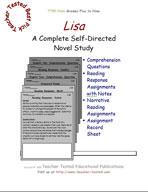 Lisa Novel Study Guide