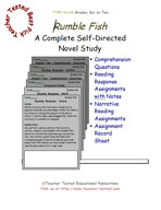 Rumble Fish Novel Study Guide