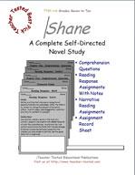Shane Novel Study Guide