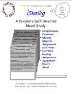 Skellig Novel Study Guide