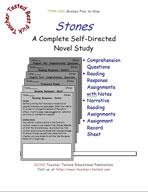 Stones Novel Study Guide