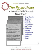The Egypt Game Novel Study Guide