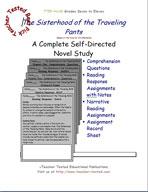 The Sisterhood of the Traveling Pants Novel Study Guide
