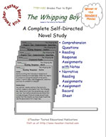 The Whipping Boy Novel Study Guide