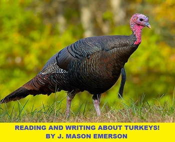 READING AND WRITING ABOUT TURKEYS! CCSS, SOME SPANISH, THA