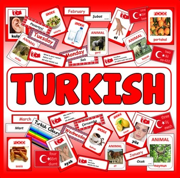 TURKISH LANGUAGE  RESOURCES GEOGRAPHY DISPLAY EAL EUROPE A
