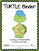 TURTLE Binder {Student Organization Folder}