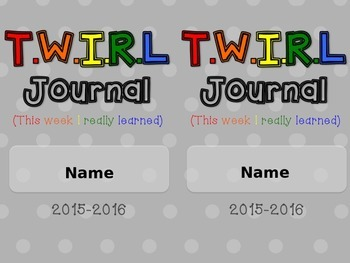 TWIRL Journal Cover