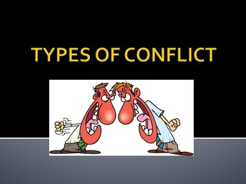 TYPES OF CONFLICT POWER POINT + ACTIVITY