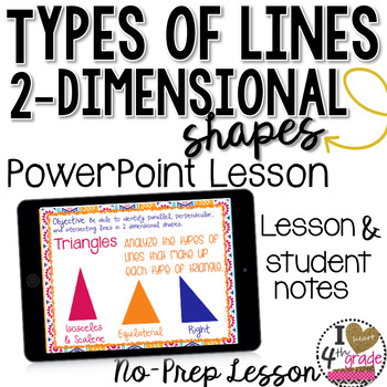 TYPES OF LINES LESSON