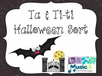 Ta & Ti-Ti Halloween Sorting Activity