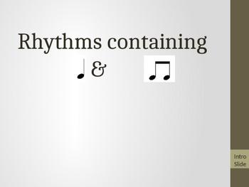 Ta & Ti-Ti Rhythm Pattern Assessment w/ Rhythm Rubric