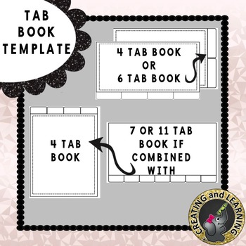 Tab Book Template