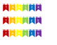 Table Labels (pennant style, 1-6)