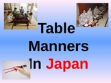 Table Manners In Japan Quiz