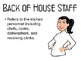 Table Service Powerpoint for a Culinary Arts or Hospitalit