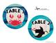 Table Signs - Ocean theme