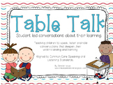 """Table Talk,"" Student Led Conversations (CCS Speaking and"