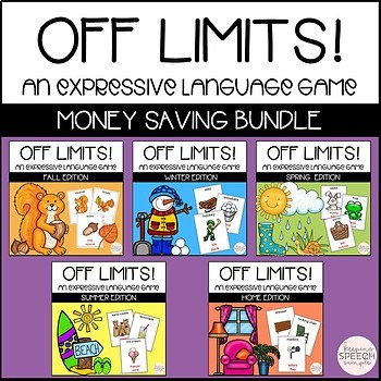 Taboo Language Games BUNDLE