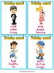 Jobs Vocabulary Cards Game {Dollar deals}