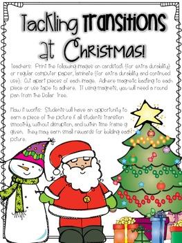 Tackling Transitions at Christmas Time