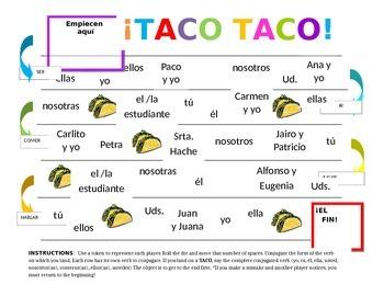 Taco-Taco Board Game