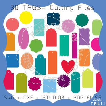 Tags: 30 SVG cuttting files