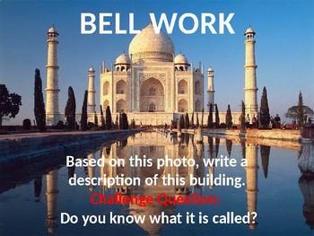 Taj Mahal Lesson