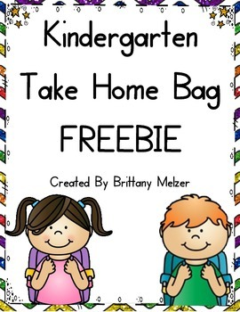 Take Home Bag FREEBIE