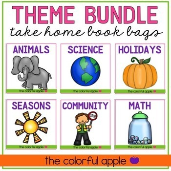 Take Home Book Bags: Thematic Growing Bundle