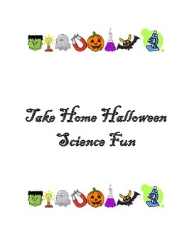 Take Home Halloween Science Fun