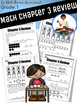 "Chapter 3 Review ""Go Math"" Form : B Included"