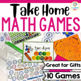 Take-Home Math Games For Older Students {Make Great Gifts!}