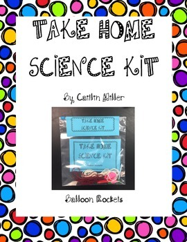 Take Home Science Kit Printable - Balloon Rockets