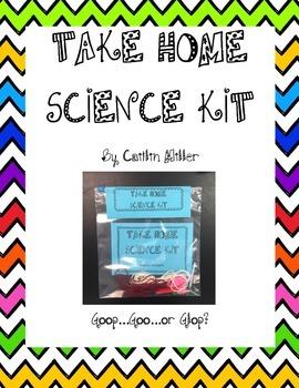 Take Home Science Kit Printable - Goop, Goo or Glop