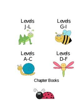 Take Home books Labels