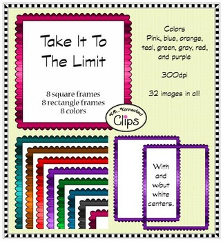 Take It To The Limit Frame Collection