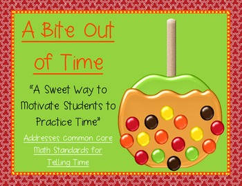 Take a Bite out of Time - Addresses Common Core Math Stand