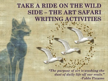 Think and Write Creatively with Art - Take a Ride on the W