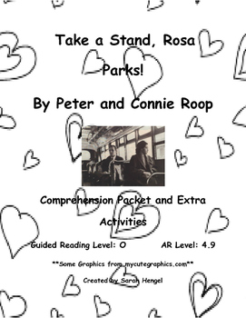 Take a Stand, Rosa Parks! by Peter and Connie Roop Compreh