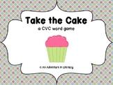 Take the Cake CVC Word Game