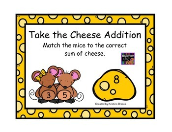Take the Cheese Addition Mice