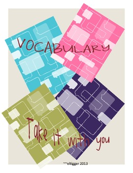 Take your vocabulary with you