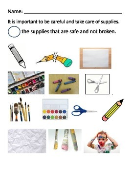 Taking Care of Art Supplies
