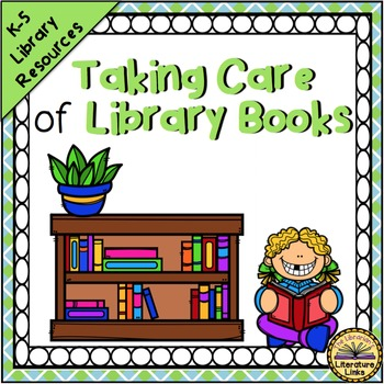 Book Care {Library and Classroom Posters, Flyers, Bookmarks}