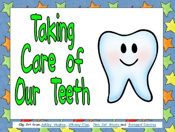 Taking Care of Our Teeth Shared Reading for Kindergarten-