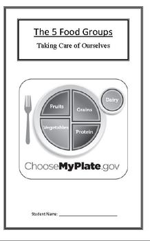Taking Care of Ourselves: Food Groups (Week 3) Common Core