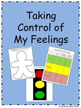 Taking Control of My Feelings - Behavior Intervention