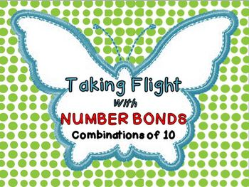 Taking Flight with Number Bonds Math Center